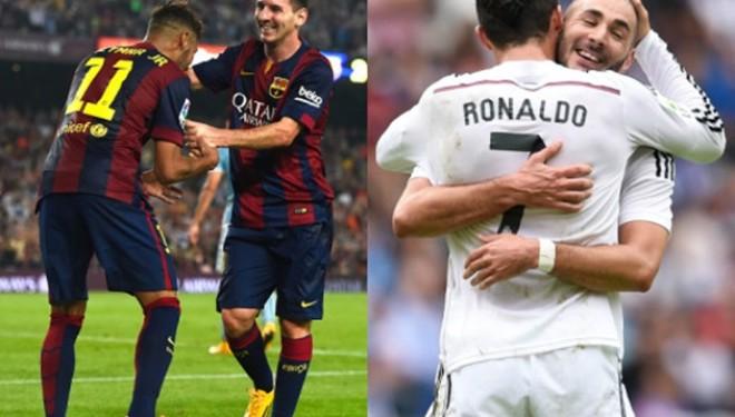 Kompanitë e basteve, Barça favorite ndaj Real Madridit