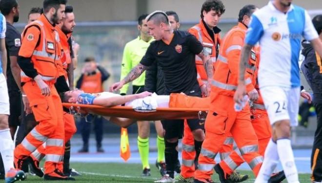 Dëmtim i rëndë i Mattiellos (+18pamje të rënda)