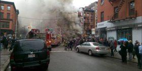 Rrëzohet një ndërtesë në New York (Foto)