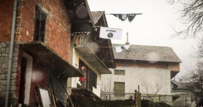 Në Bosnjë ngrihen flamujt e ISIS-it