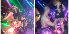 Tiranë/ Femrat simulojnë sex me meshkujt striptistë (Video +16)