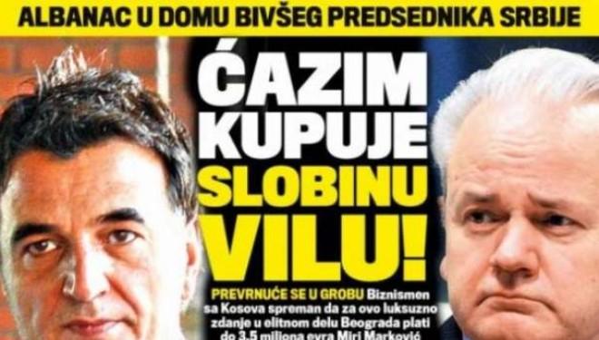 Qazim Osmani ofron 3.5 milonë euro për villën e Milloshevicit