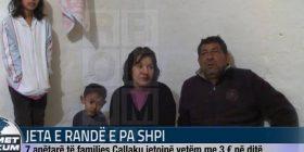 Jeta e randë e pa shpi. 7 anëtarë të familjes Çallaku jetojnë vetëm me 3 euro në ditë