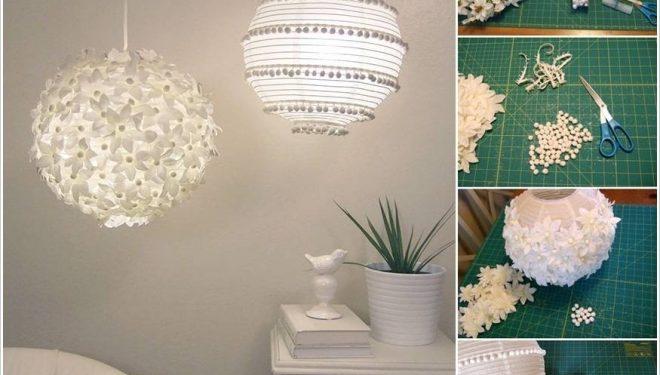 Llampa të mrekullueshme letre (Foto)
