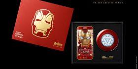 Prezantohet Samsung Galaxy S6 edge me logon e Iron Man