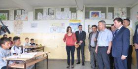 Arsim Bajrami premton tekste shkollore në Luginën e Preshevës
