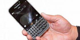 BlackBerry lanson modelin Classic