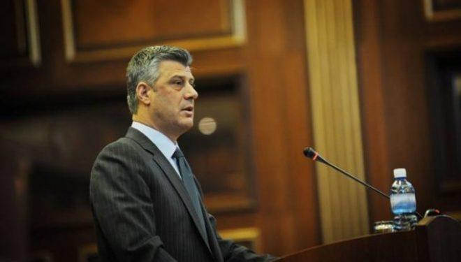 Thaçi numëron vetëm suksese në fjalimin solemn për 9-vjetorin e shtetit