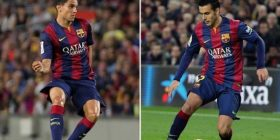 Barcelona, Luis Enrique bllokon Pedron dhe Bartra