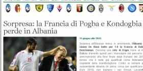 Mediat botërore sportive vlerësojnë suksesin e Shqipërisë