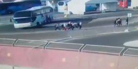 """""""Baku 2015″, autobuzi përplas 5 notare, 1 në gjendje të rëndë"""