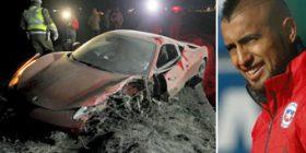 Vidal i alkoolizuar, aksidentohet me Ferrari