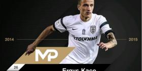 Kaçe, lojtari më i mirë i sezonit për tifozët e PAOK