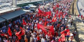 """""""Protesto shqip"""" kundër diskriminimit të shqiptarëve"""