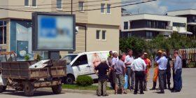 Komuna e Gjilanit në aksion për heqjen e të gjitha reklamave pa leje