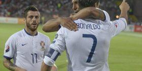 "Portugalia i falet Ronaldos, Danimarka ""fundos"" Serbinë"