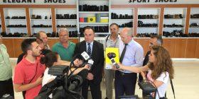 Kontigjenti prej 18 mijë palë këpucësh i fabrikës Solid u nisë për në Franc