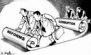 """Luftimi i korrupsionit, ende nën """"llupën"""" e BE-së"""