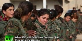 Lufta e grave kurde kunder ISIS (Video)