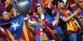 Flamujt e Katalunjës, UEFA do të ndëshkojë Barçën