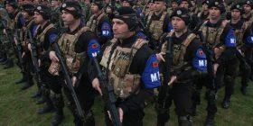 Policia Ushtarake shqiptare në gatishmëri kundër Rusisë