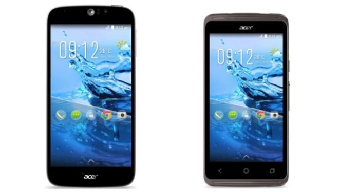 Acer zbuloi dy telefona të rinj inteligjentë