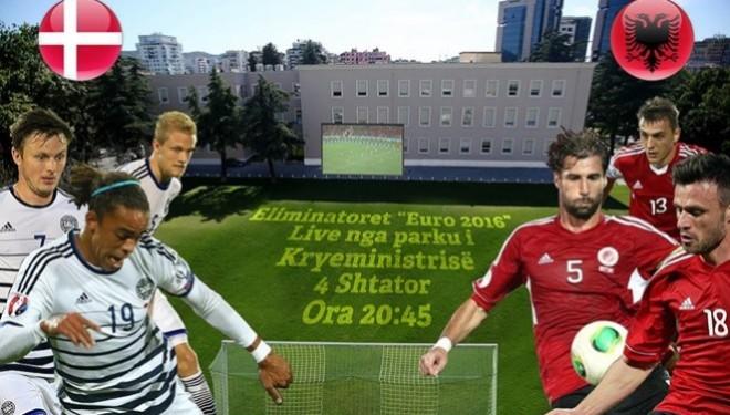Danimarkë-Shqipëri, edhe në Parkun e Kryeministrisë