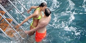 Irina e Bradley Cooper nuk mund të ndahen nga njëri tjetri (Foto)