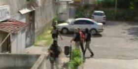 Pamje nga arrestimi i sotëm i të dyshuarve për lidhje me ISIS-in (Video)