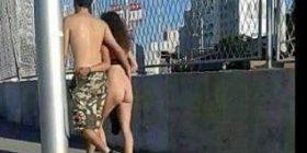 Shqiptar është ky çift që shëtit nudo? (Foto)