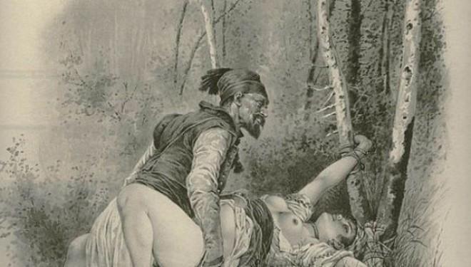 Tmerret e përdhunimit në Ballkan nga otomanët (Skica +18)