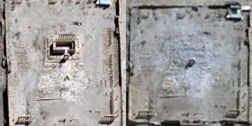 Tempulli Palmyra asht shkaterrue. Konfirmon OKB