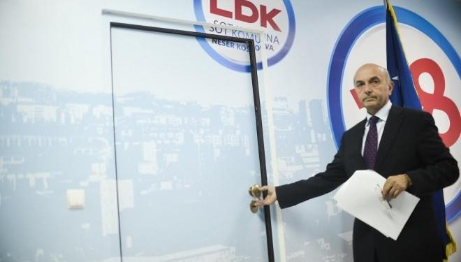 LDK bllokoi hetimet për SHIK-un