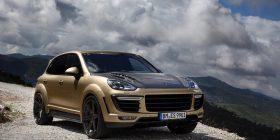 Porsche Cayenne Turbo – Vantage GOLD, kushton 180,000 €uro (Foto)