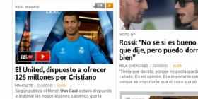 """""""AS"""": Man. UTD ofron 125 milionë për Cristiano Ronaldon"""