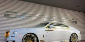 Rolls-Royce Wraith me disa pjesë nga ari (Foto)