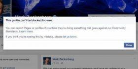 Njeriu i vetëm n'botë që s'mundesh me bllokue n'Facebook!