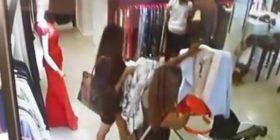 Arrestohet studentja, vodhi 1 milion lekë rroba në qendrat tregtare