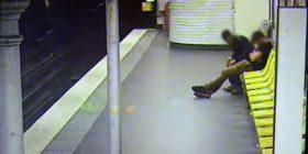Pasi e vodhi viktimën, i shpëtoi jetën në hekurudhë (Video)