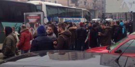 Gjashtë autobusë nisen nga Mitrovica në Prishtinë