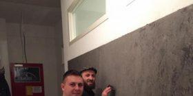 Në vendlindje arsimtar e piktor, në Zvicër moler e murator