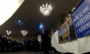 Thaçi Pritet si President dhe e Thumbon Ramush Haradinajn