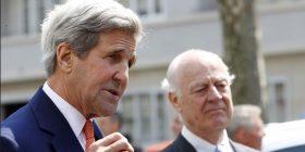 """Kerry: Siria është ende """"në shumë mënyra jashtë kontrollit"""""""