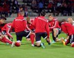 Shqipëria përballë Lituanisë për tri pikët e radhës