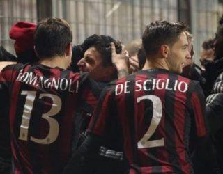 Milani ka fituar me shumë vështirësi në San Siro ndaj Sassuolos me rezultat 4-3