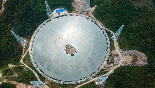 """Kina nuk ka vetëm """"Murin e madh"""", por dhe radio-teleskopin më gjigant në botë"""
