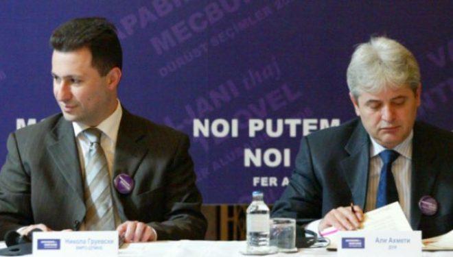 Ekskluzive: Gruevski dhe Ahmeti të premten shpallin koalicionin, ja kushtet!