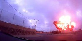 Pamje nga rrëzimi i aeroplanit ku besohet se ishin zyrtarët e BE-së (Foto/Video)