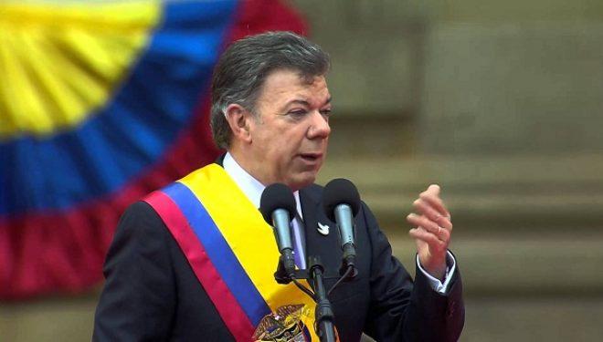 Presidenti i Kolumbisë fiton Nobelin e Paqes