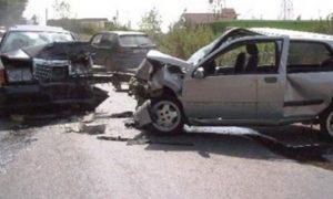 """Policia: Dy të lënduar në aksidentin e sotëm në magjistralen """"Ibrahim Rugova"""""""